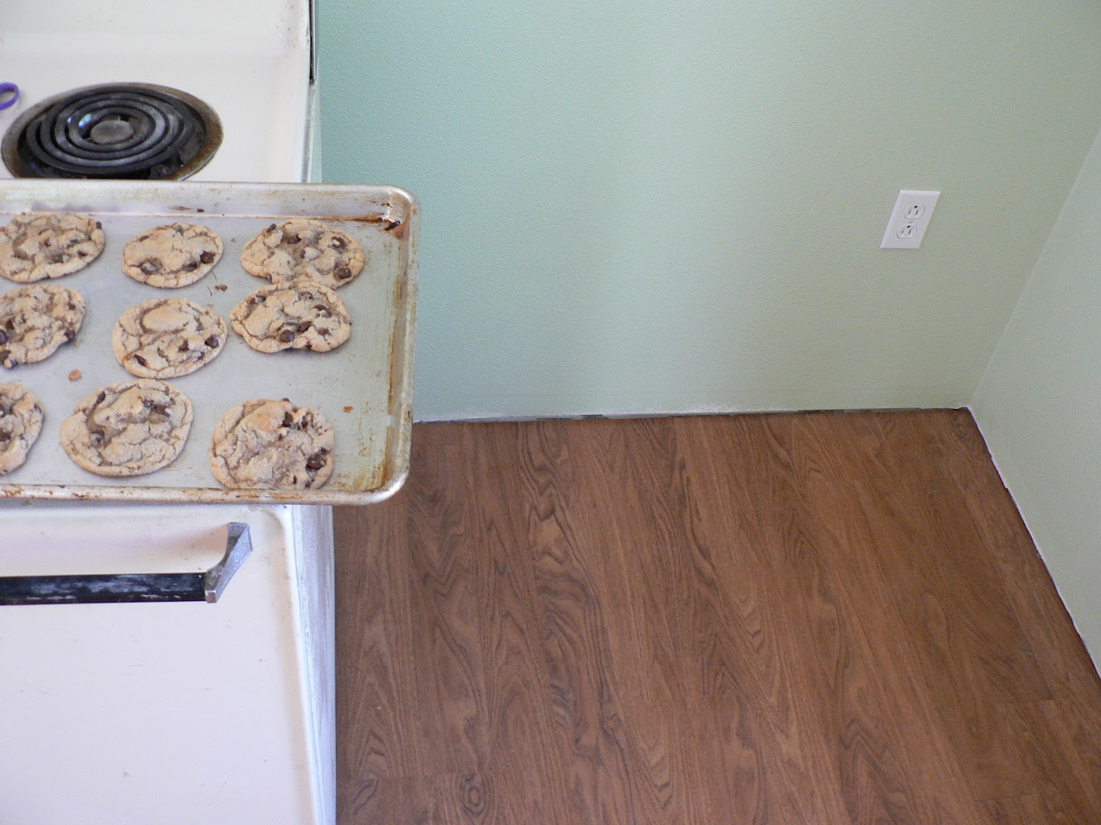 Our Biggest Mess: Kitchen Floor (and a trip to the ER) - Bless This Mess