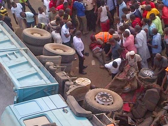 Exclusive photos from the fatal accident in Abuja this morning  00