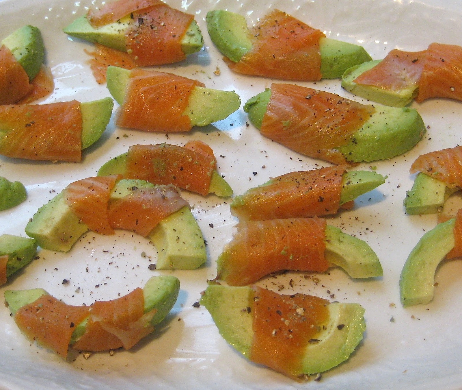 Food Lust People Love Smoked Salmon And Avocado Easy