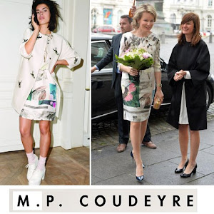 M.P. COUDEYRE Dress Queen Mathilde Style