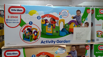 Kids will be entertained for hours in the Little Tikes Activity Garden