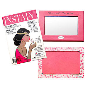 Leticia Fontaine, Cosmetics Aficionado, beauty blog, beauty blogger, interview, First Look Fridays, Leticia Fontaine's favorite beauty products, theBalm Instain Staining Powder Blush Lace, blush, makeup