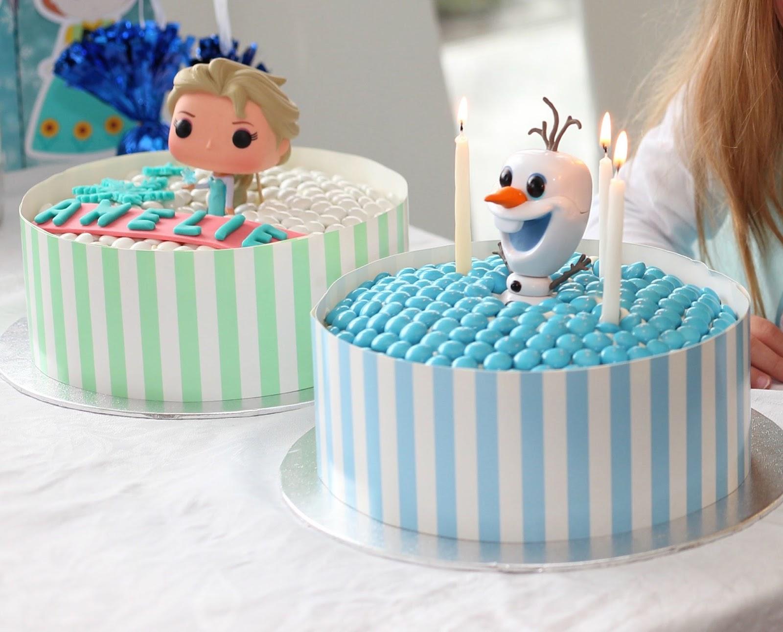 Sneak Peek Of Amelies 3rd Birthday Party Frozen Theme