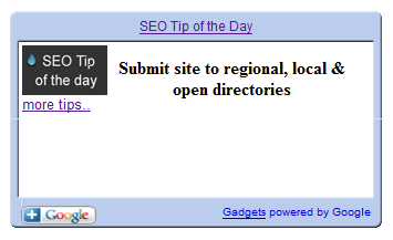 SEO tip a day
