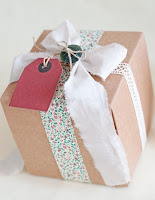 6776630247 bbbdd67f8a o Gorgeous Gift Wrap | Vintage Fabric Ribbons from Facil y Sencillo