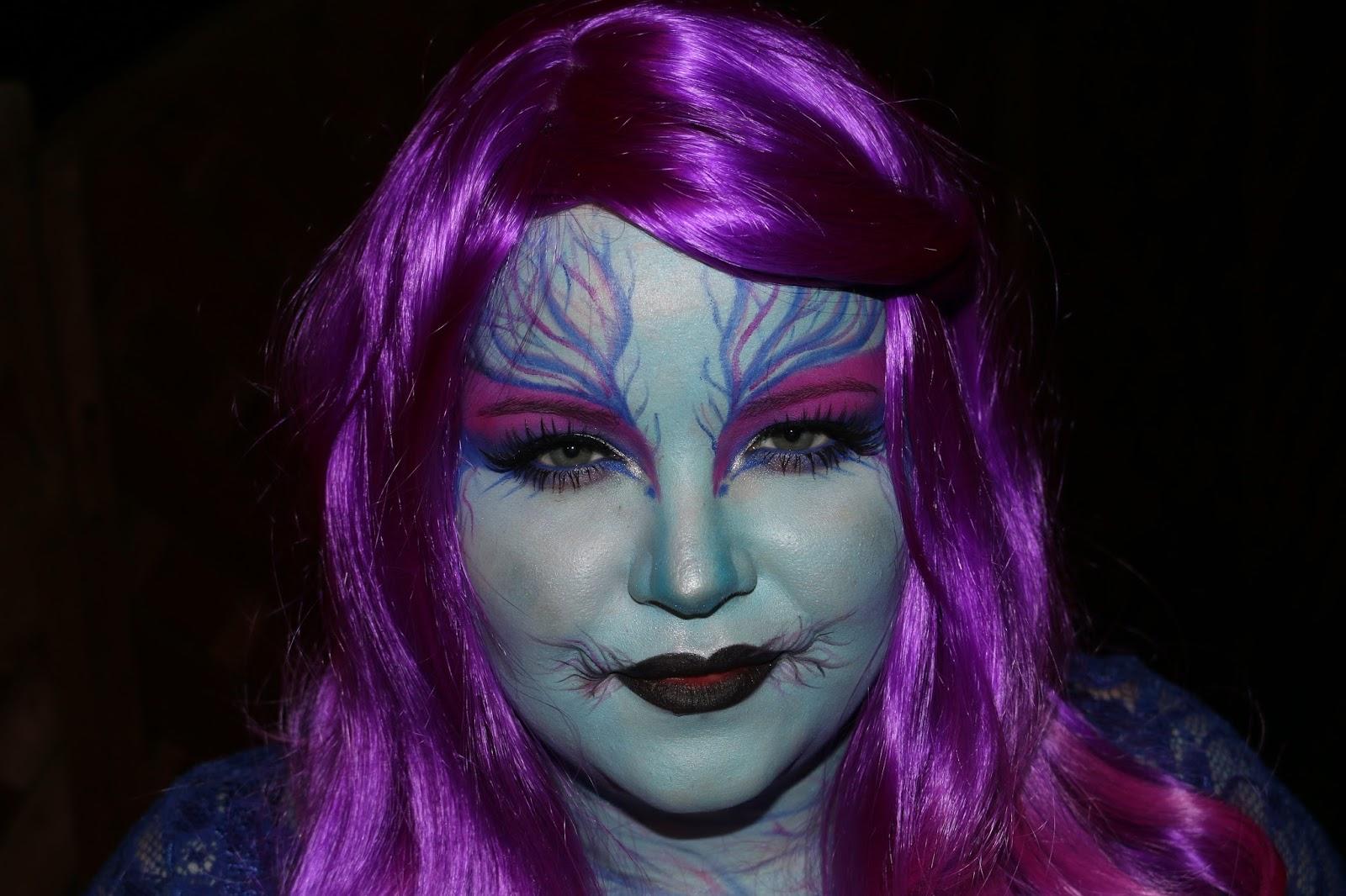 Evil Pixie Halloween look with Makeup Revolution