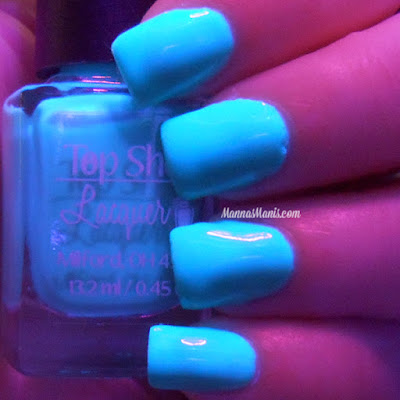 Top Shelf Lacquer Teal-tini swatches