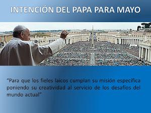 Intención del Papa mAYO