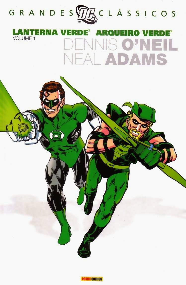 Apesar da cor, O'Neil investe no contraste entre Lanterna e Arqueiro
