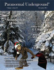 Rob Gutro in Paranormal Underground Magazine