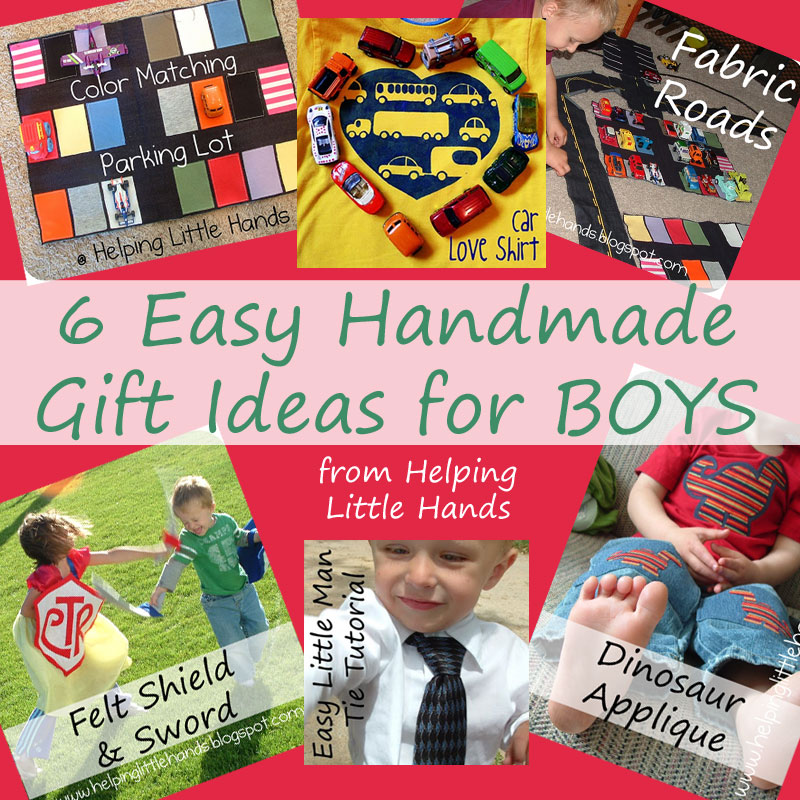 Pieces by polly 6 easy handmade gift ideas for boys for Easy diy gifts for boys