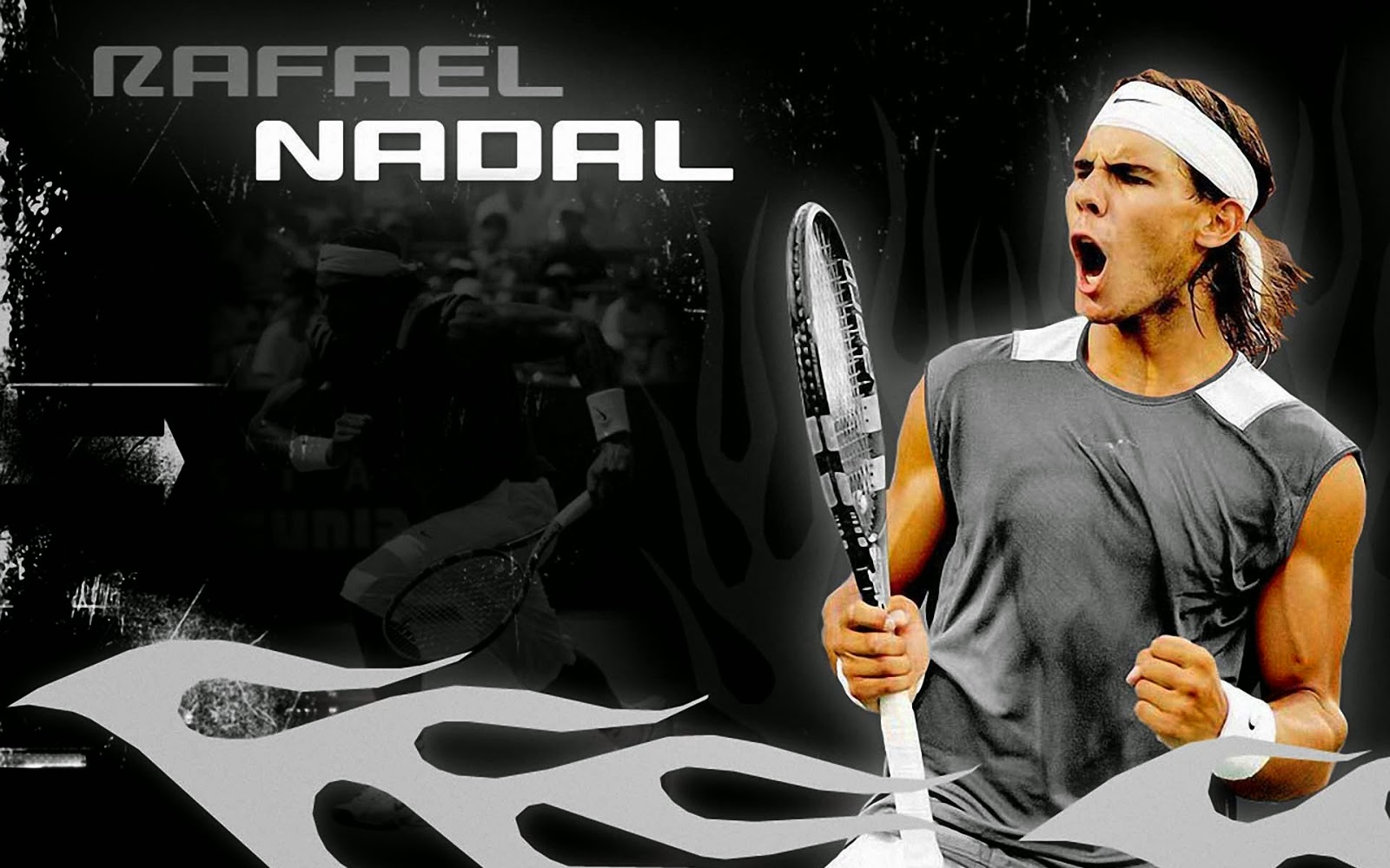 famous tennis players in the world.: it is about rafael nadal hd
