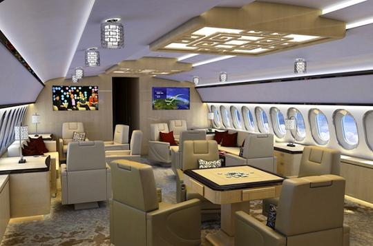 interior pesawat paling mewah forzant blog