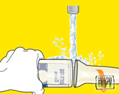 Como hacer vasos con botellas de vidrio paso 4