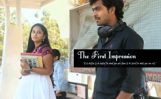 THE FIRST IMPRESSION TELUGU SHORT FILM POSTER