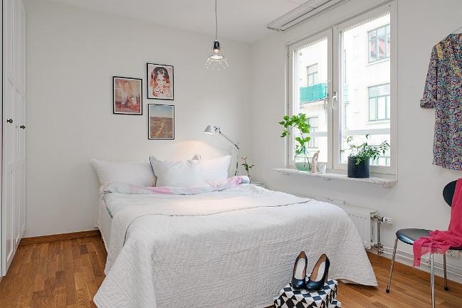 El piso perfecto mientras espero mi futuro castillo la for Dormitorio matrimonio estilo nordico