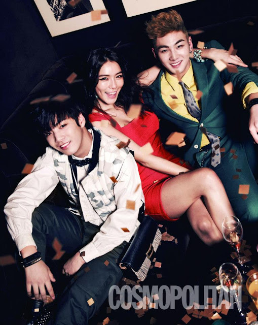 Pledis Family Majalah Cosmopolitan 02