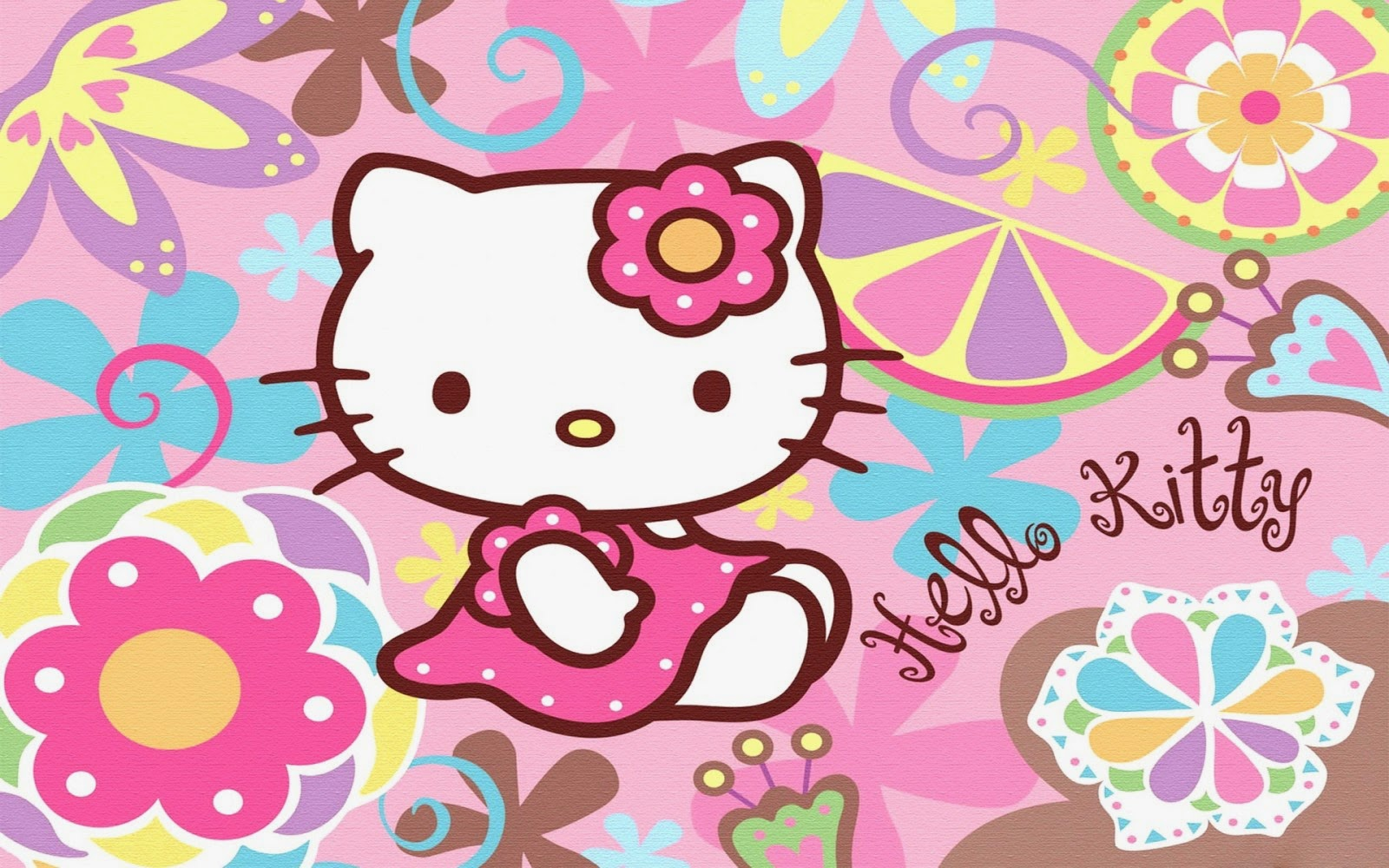 Gambar Wallpaper Hello Kitty HD Lucu 1280 x 800