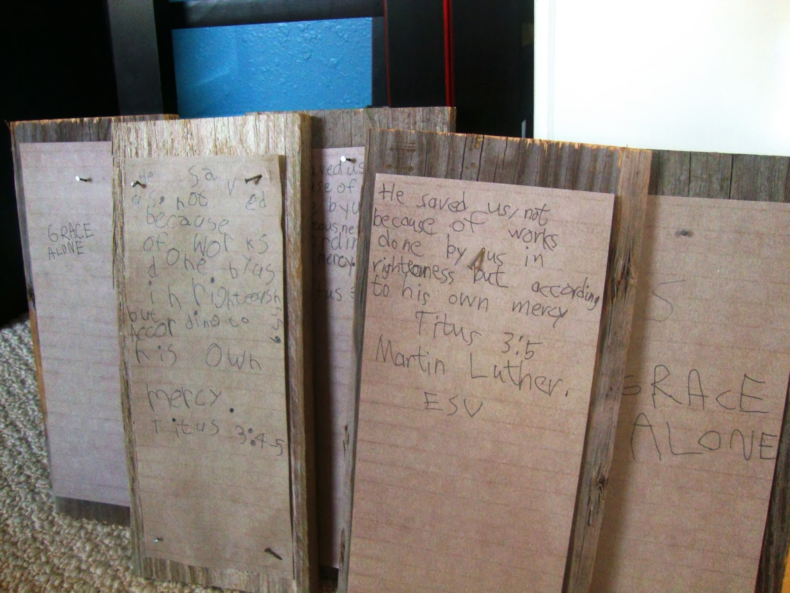 martin luther 95 theses lesson plan Martin luther and the 95 theses would have been a small local issue, or perhaps a broader academic debate among scholars, had it not been for the printer that sneaky printer we just read about martin luther and his 95 theses in our mystery of history lesson yesterday this would be great to read for.