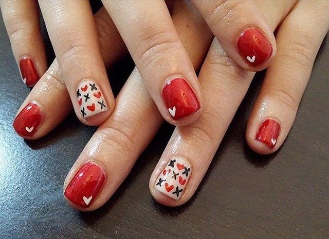 idee nail art san valentino 2016