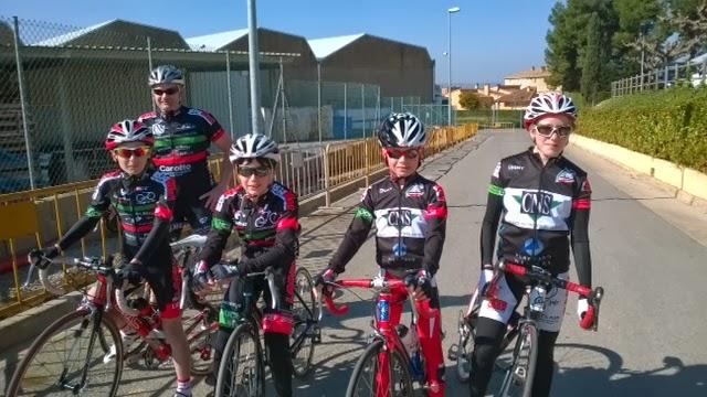 Union cycliste bellevilloise ucb stage en espagne 2014 for Garage peugeot paris nice belleville