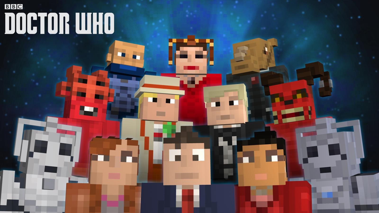 Games News Minecraft Doctor Who Skins Volume II Arrives ...