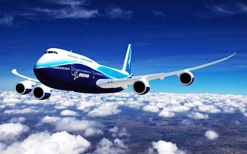 Avión Boeing 747 - Boeing 747 Airplane (1920x1200px)
