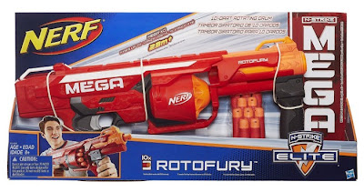JUGUETES - NERF N-Strike MEGA - RotoFury   Producto Oficial 2015 | Hasbro B1269 | A partir de 8 años  Comprar en Amazon