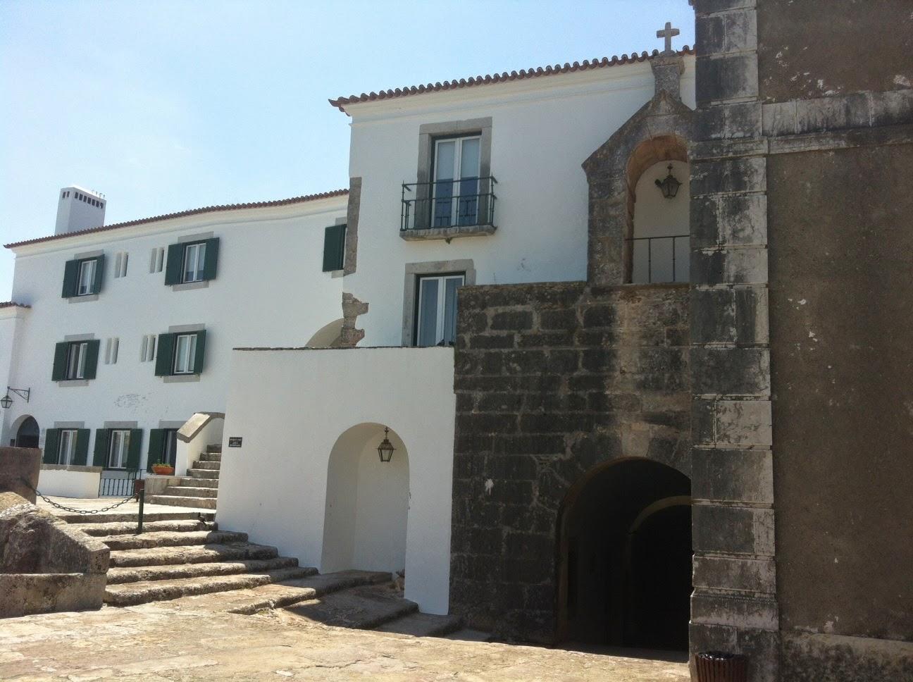 Comissão Trabalhadores em visita à Pousada de São Filipe, Setúbal