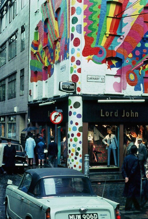 london - carnaby st
