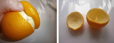 DIY: Cómo hacer una vela con una naranja