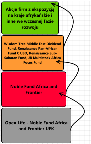 UFK Noble Fund Africa and Frontier - opłaty