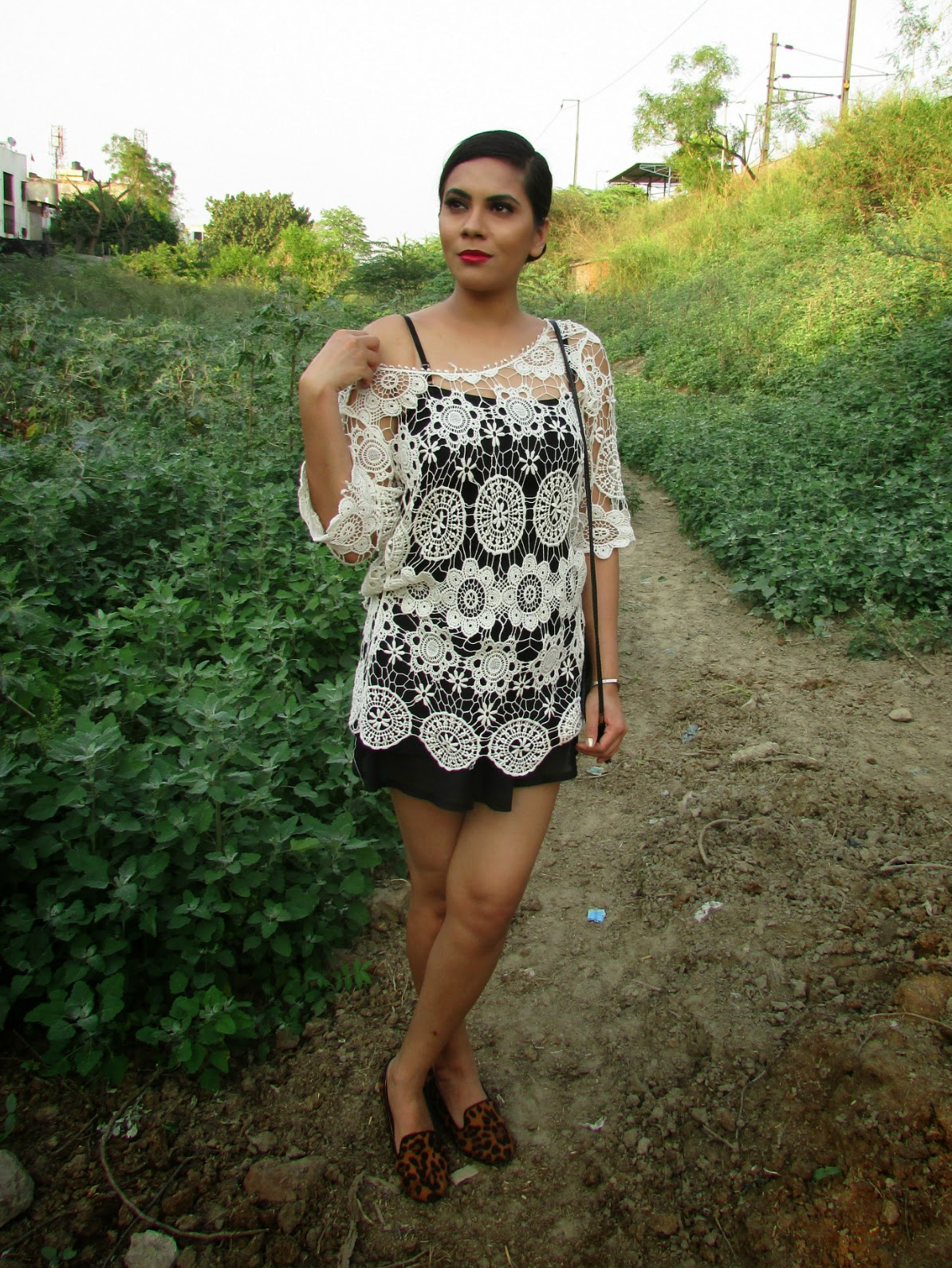 Loafers, leopard loafers, how to style loafers, how to styles loafers for summers,summer flats, spring flats, cheap loafers, chicnova, leopard shoes, fashion, Indian fashion blogger, Long Sleeves Zipper Side Slit Knitwear, heavy knit sweater, pullover, warm pullover, winter trends 2015, how to style heavy sweater, india winter trends,peplu, floral , floral peplum , floral peplum top , frock top , peplum top with floral print, peplum floral , sweat heart neck line top , distressed,distressedjeans, distressedboyfriendjeans,boyfrien,boyfriendjeans,boyfriendjeanswithcutout,ripped,rippejeans, fashion , chcnova,ootd,chicnovareview , distressedjeans chicnova,rippedboyfriendjeans,distressedpants,howtostylerippedjeans,howtostyleboyfriendjeans,howtostylebaggyjeans,crochet , lace , summer, white , crochet top , lace top , white lace top , white crochet top , net , net top , white net top,Statement necklace, necklace, statement necklaces, big necklace, heavy necklaces , gold necklace, silver necklace, silver statement necklace, gold statement necklace, studded statement necklace , studded necklace, stone studded necklace, stone necklace, stove studded statement necklace, stone statement necklace, stone studded gold statement necklace, stone studded silver statement necklace, black stone necklace, black stone studded statement necklace, black stone necklace, black stone statement necklace, neon statement necklace, neon stone statement necklace, black and silver necklace, black and gold necklace, blank and silver statement necklace, black and gold statement necklace, silver jewellery, gold jewellery, stove jewellery, stone studded jewellery, imitation jewellery, artificial jewellery, junk jewellery, cheap jewellery ,chicnova Statement necklace, chicnova necklace, chicnova statement necklaces,chicnova big necklace, chicnova  heavy necklaces , chicnova gold necklace, chicnova silver necklace,  chicnova  statement necklace,chicnova  gold statement necklace,chicnova studded statement