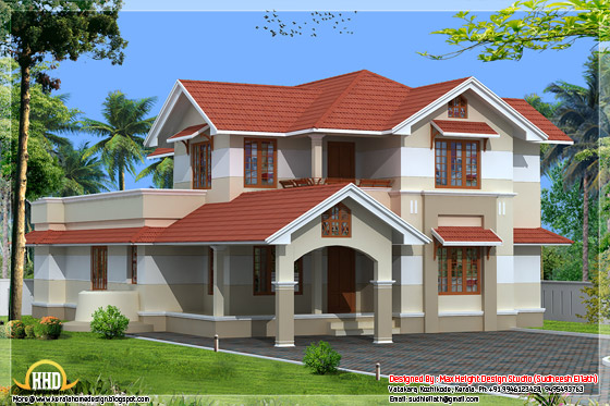 2800 square feet Kerala home design