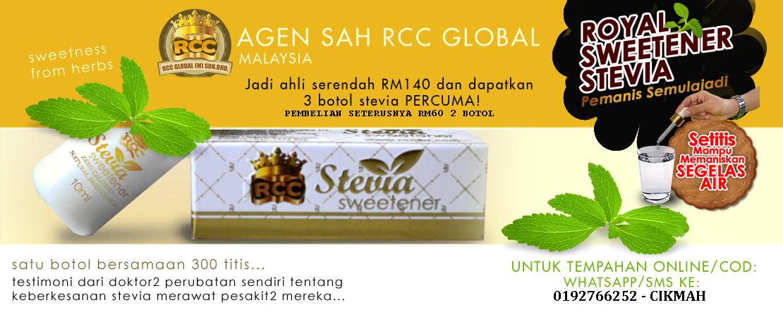 Pemanis Stevia Original RCC