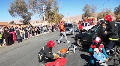 سيارة تدهس ثمانية تلاميذ أمام مؤسسة تعليمية بمراكش