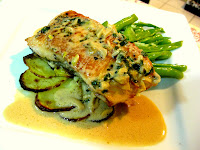 Pan Fried Salmon Lemon Sauce