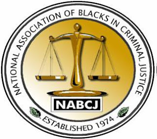 Logo for the National Association of Black in Criminal Justice.