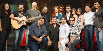 Shanksr Ehsaan Loy with karan johar and ritesh deshmukh