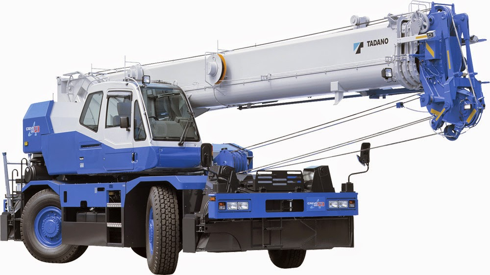 Rough Terrain Crane Wikipedia : Tadano gr n crevo g rough terrain crane ton