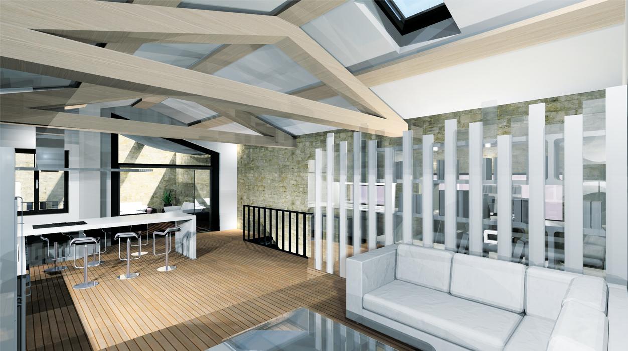 designer d 39 espace graphiste 3d architectural projet verg ze gard formation image. Black Bedroom Furniture Sets. Home Design Ideas