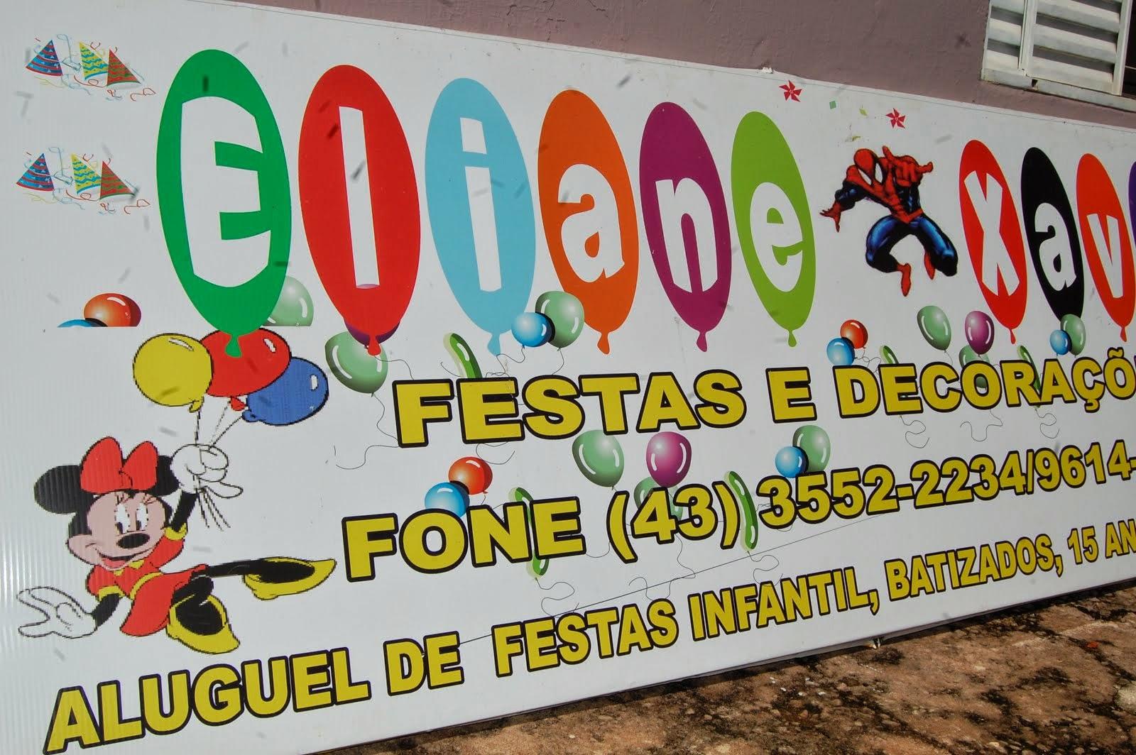ELIANE XAVIER FESTAS & DECORAÇÕES..