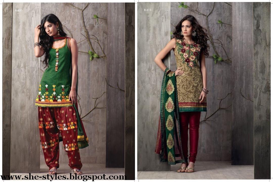 colorful designer salwar kameez indian designer dress
