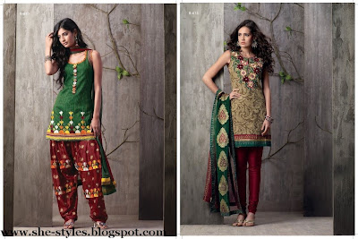 Designer Dress on Colorful Designer Dress Collection 2012 2013