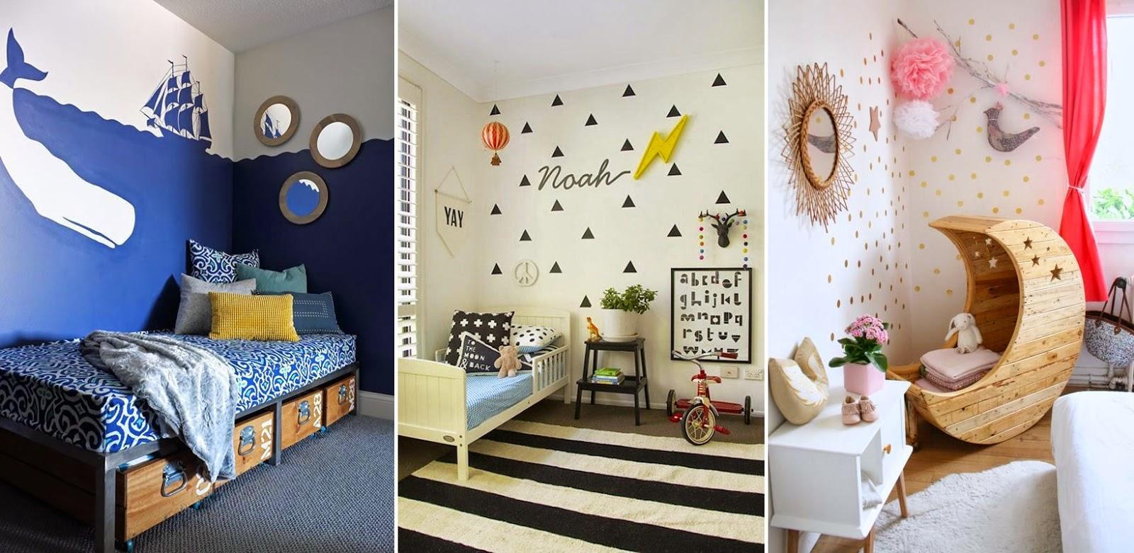 9 murales originales en habitaciones infantiles m s chicos - Paredes infantiles originales ...