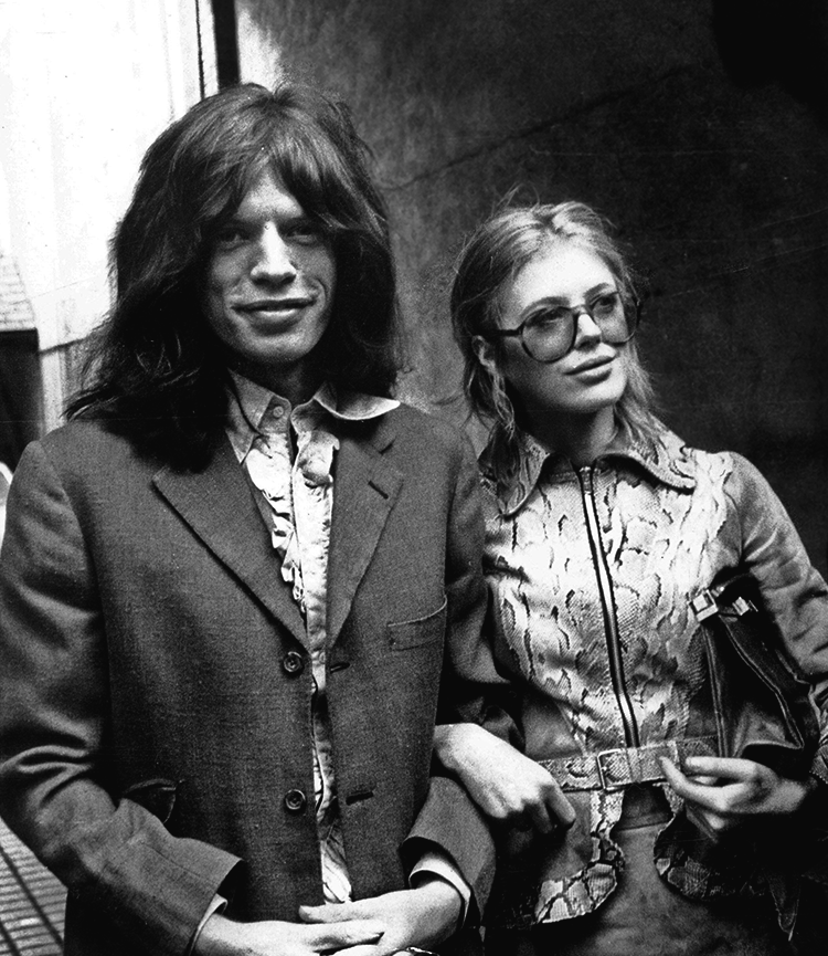Angie Bowie Mick Jagger
