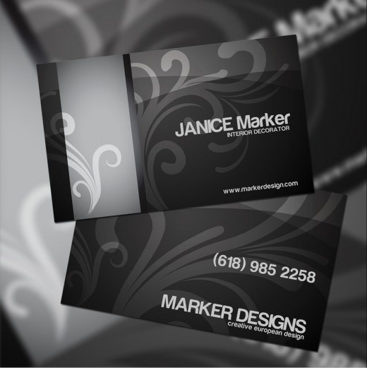 49) Business Card