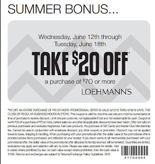 loehmanns printable coupons