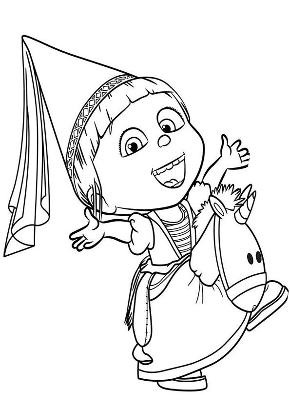 Dibujo de los Minions para imprimir y colorear (17 de 24