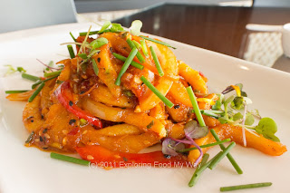 Sweet and Spicy Fried Cuttlefish
